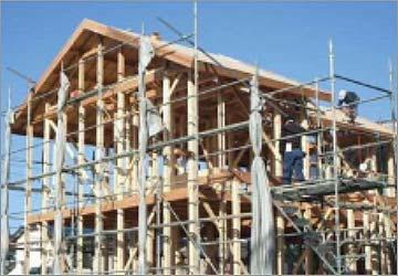 木造軸組工法の説明画像