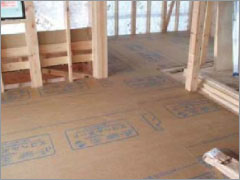 床下地材仕様エコヘルボードの画像